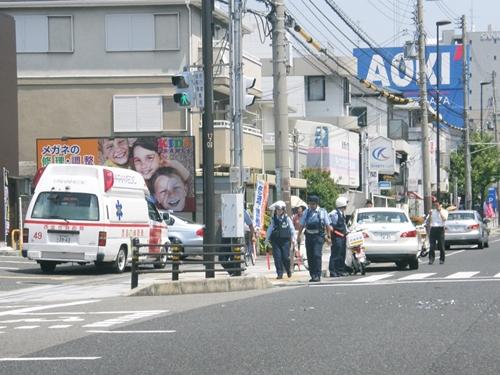 交通事故後の対応